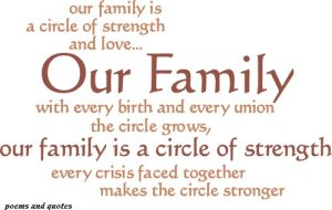Our-family-is-a-circle-of-strength-and-love